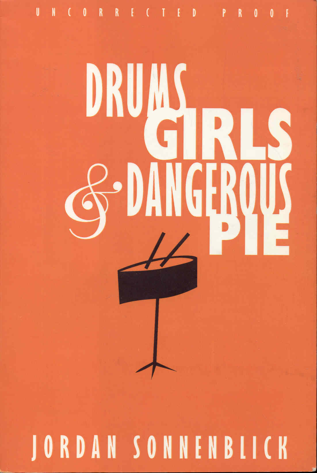 Image for Drums, Girls & Dangerous Pie