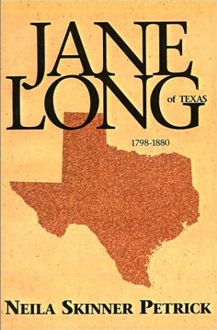 Image for Jane Long of Texas, 1798-1880