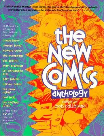 Image for The New Comics Anthology