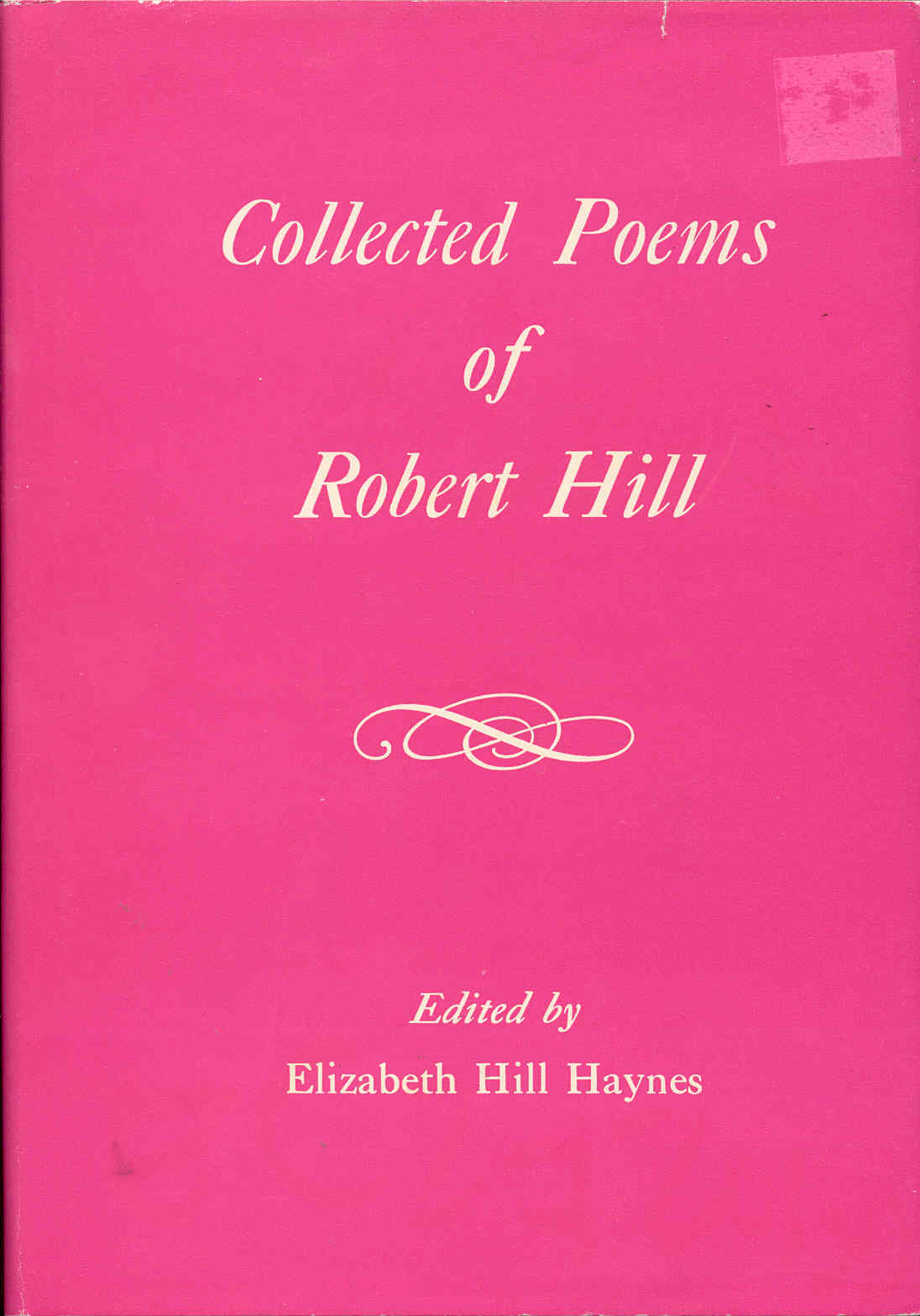Image for Collected Poems of Robert Hill