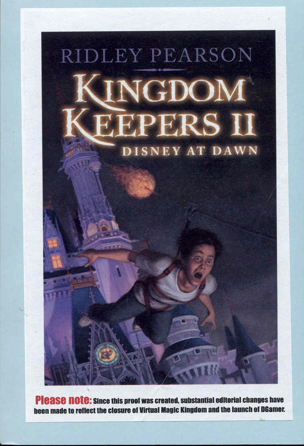 Image for The Kingdom Keepers II: Disney at Dawn