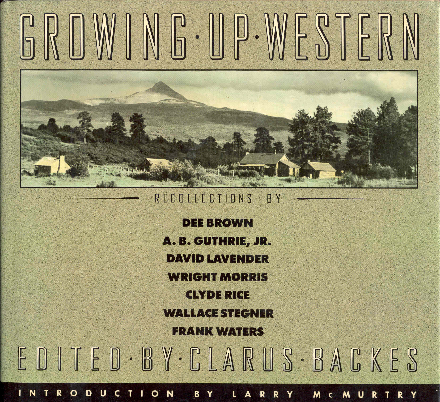 Image for Growing Up Western