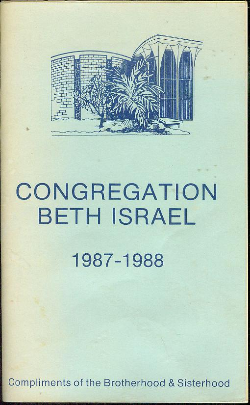 Image for Congregation Beth Israel 1987-1988