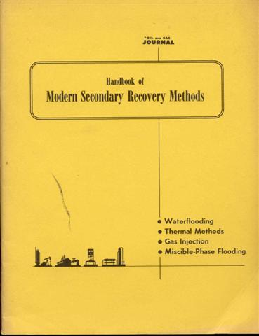 Image for Handbook Of Modern Secondary Recovery Methods