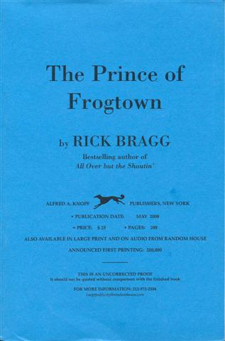 Image for The Prince of Frogtown