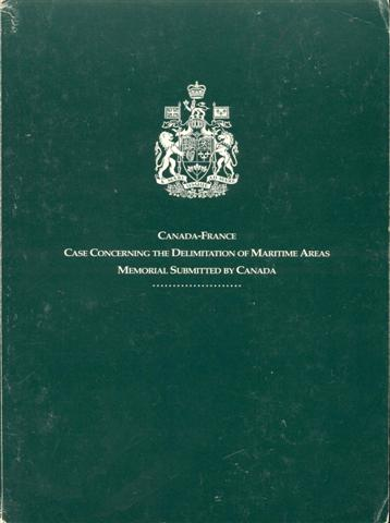 Image for Court of Arbitration: Delimitation of the Maritime Areas Between Canada and France