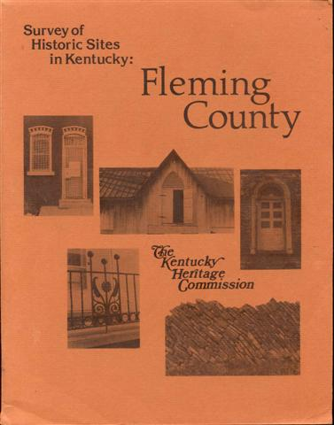 Image for Fleming County, Kentucky: An Architectural Survey