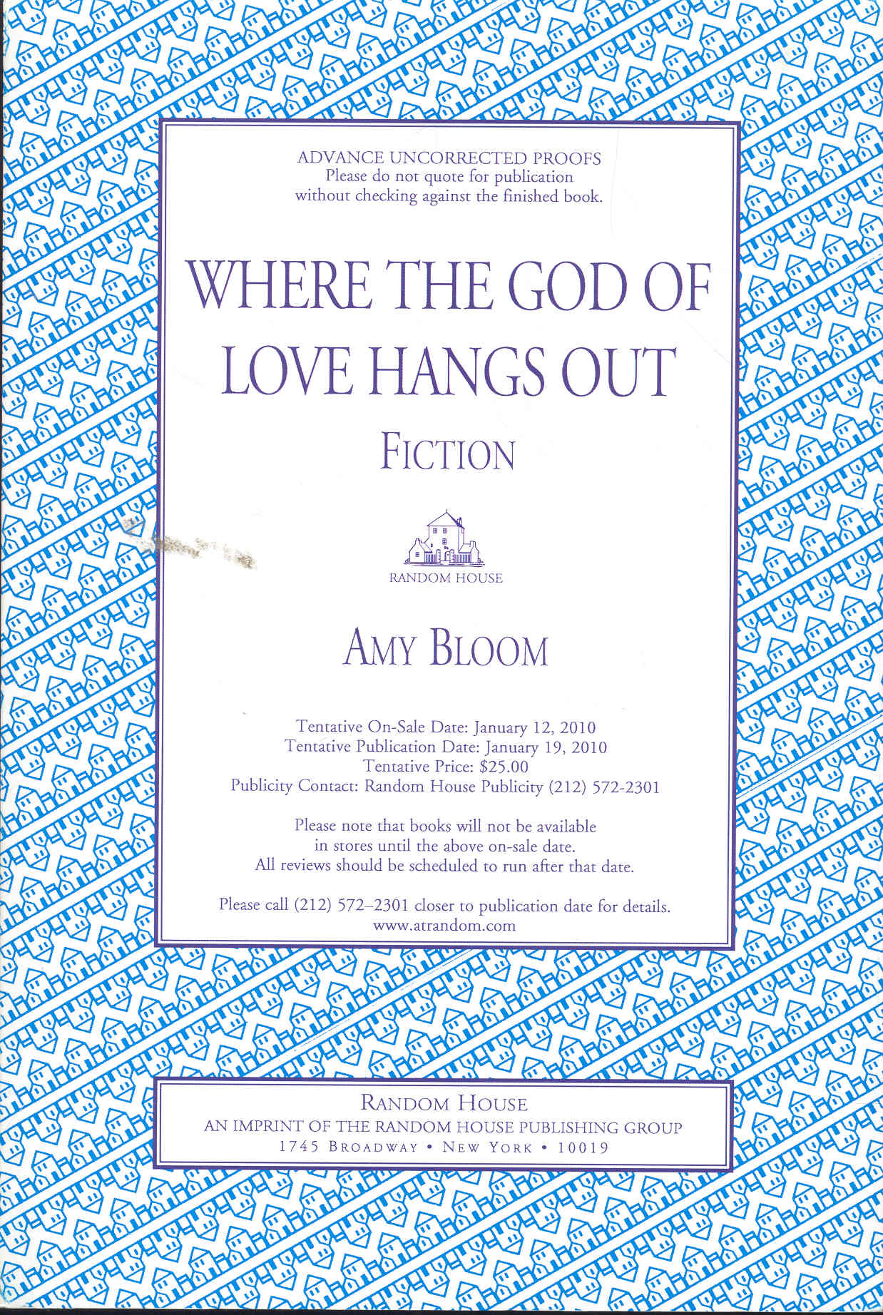 Image for Where the God of Love Hangs Out