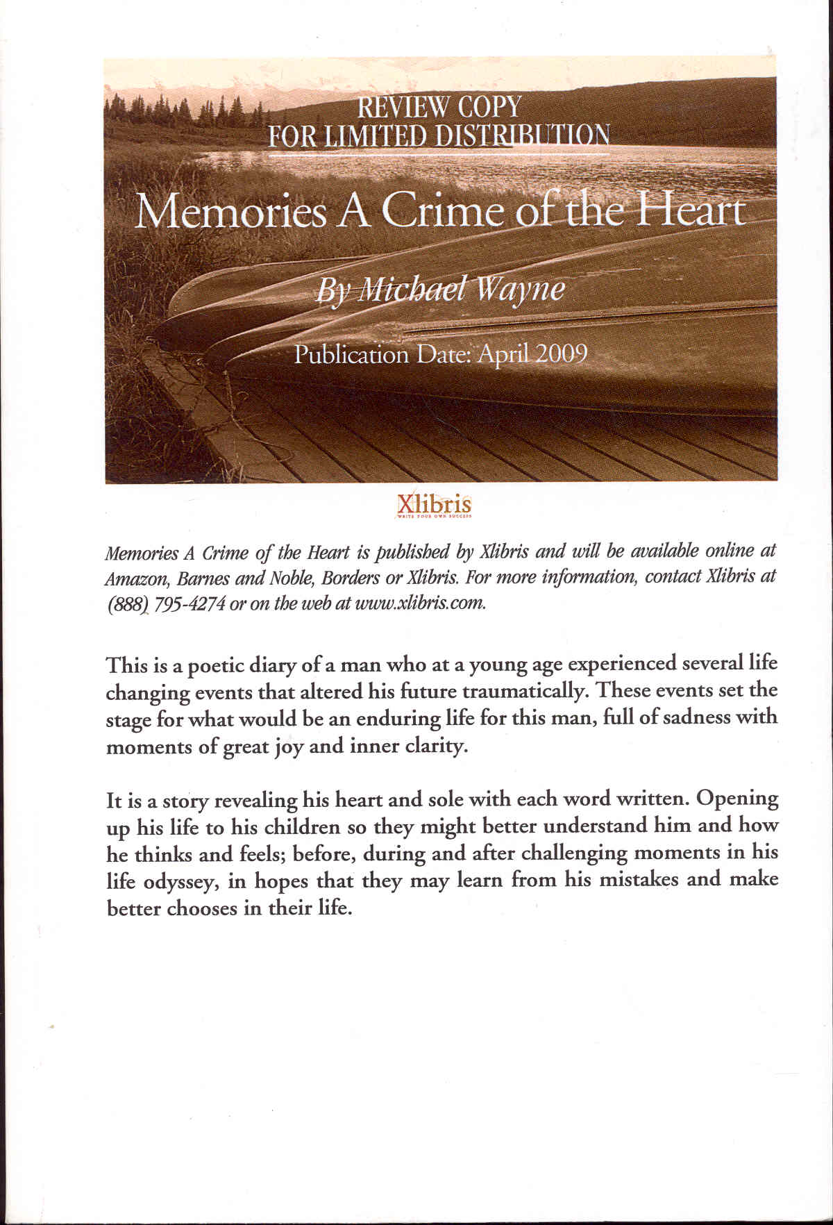Image for Memories: A Crime of the Heart