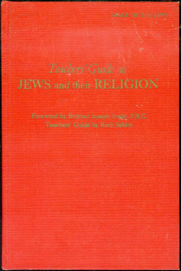 Image for Image of the Jews: Teachers' Guide to Jews and Their Religion