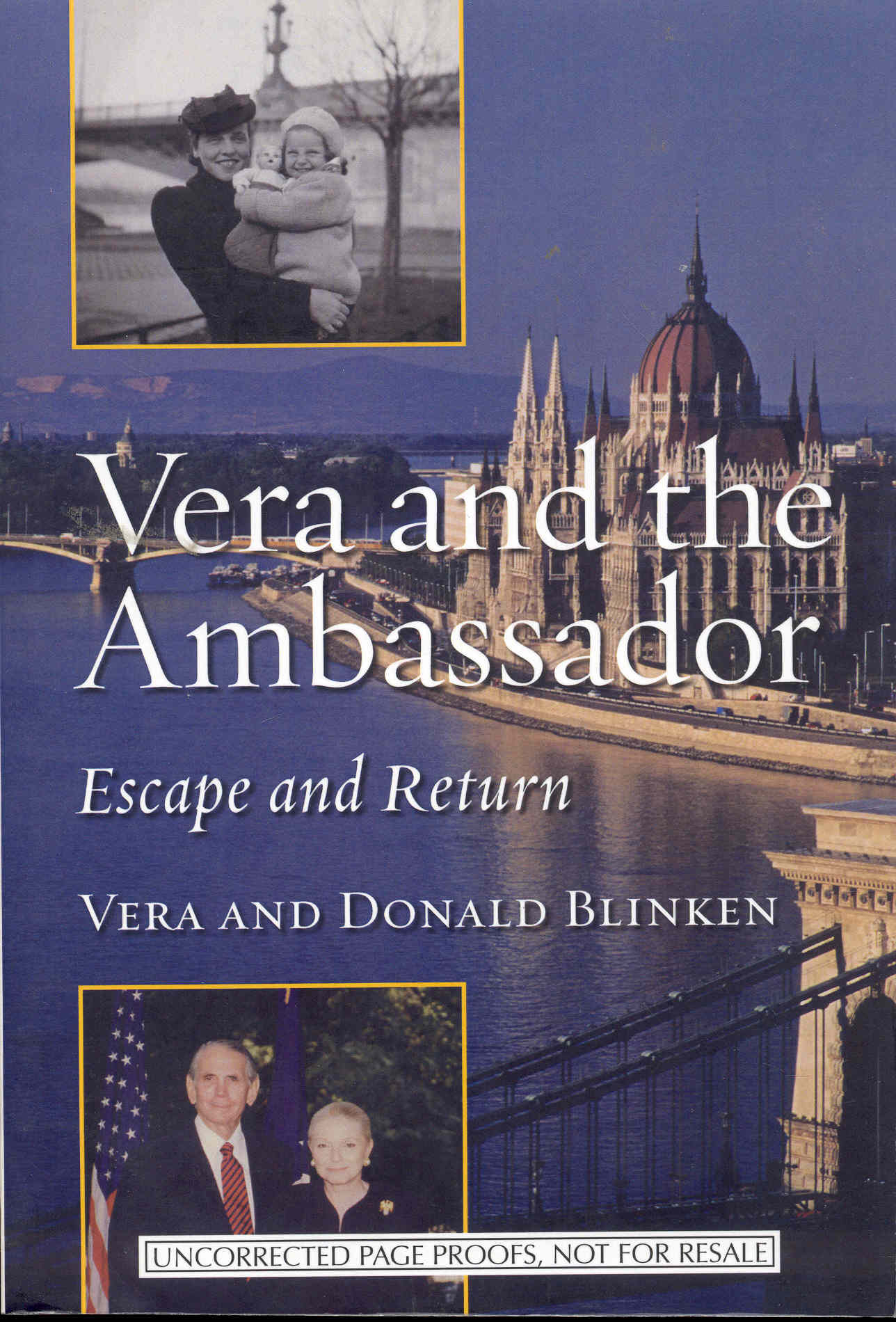 Image for Vera and the Ambassador: Escape and Return