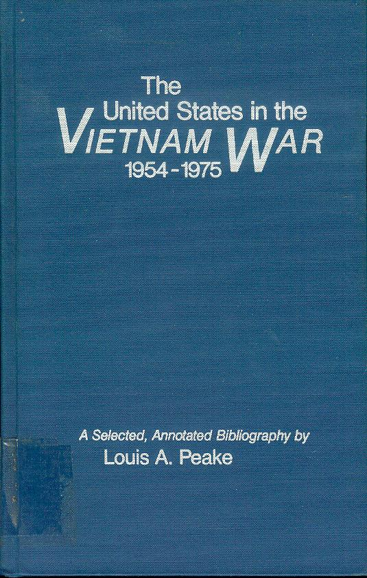 Image for The United States in the Vietnam War, 1954-1975