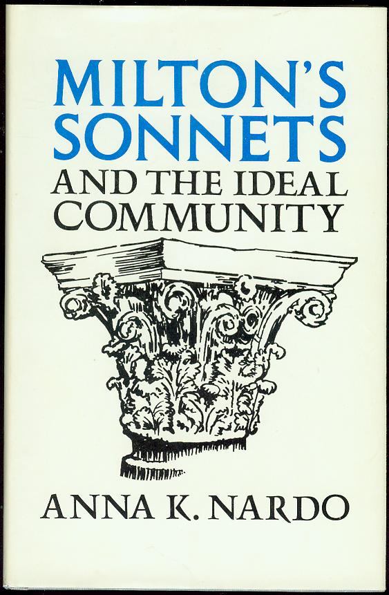 Image for Milton's Sonnets and the Ideal Community