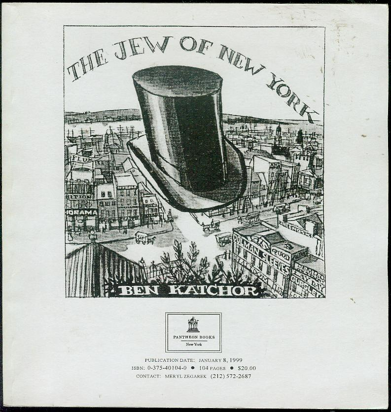 Image for The Jew of New York