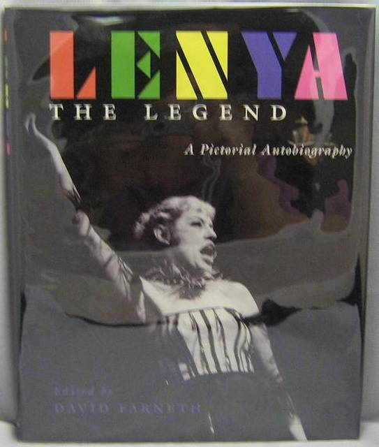 Image for Lenya the Legend : A Pictorial Autobiography