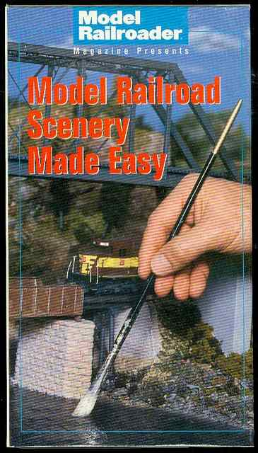 Image for Model Railroad Scenery Made Easy