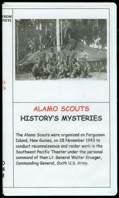 Image for Alamo Scouts (History's Mysteries)