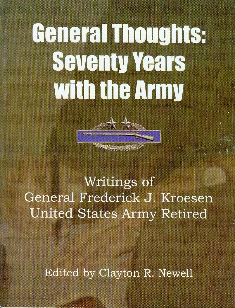 Image for General Thoughts: Seventy Years with the Army