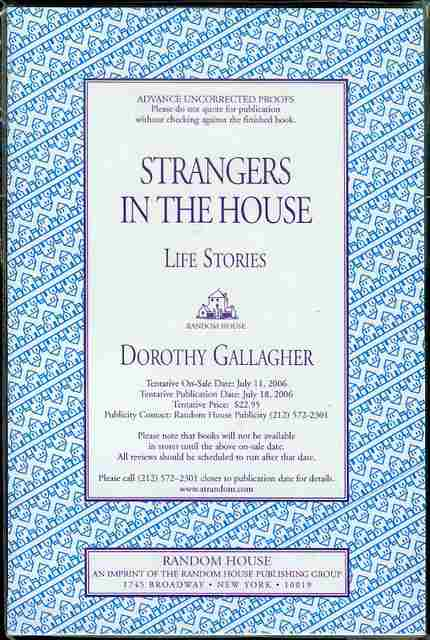 Image for Strangers in the House: Life Stories