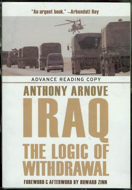 Image for Iraq: The Logic of Withdrawal