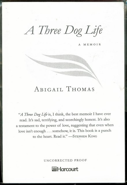 Image for A Three Dog Life