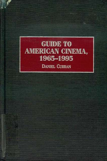 Image for Guide to American Cinema, 1965-1995