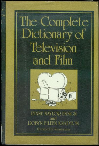 Image for The Complete Dictionary of Television and Film