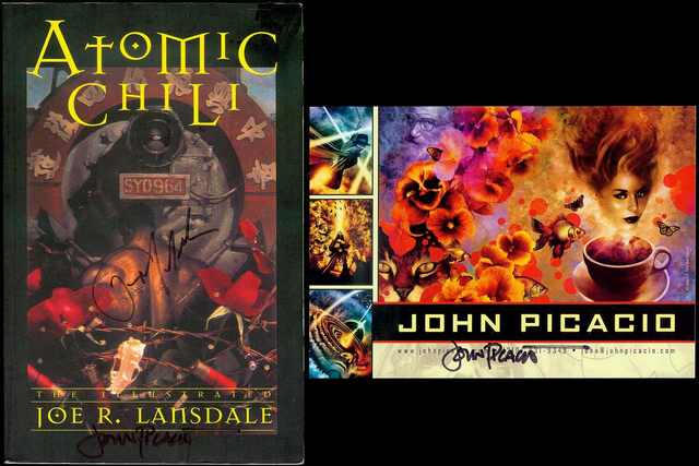 Image for Atomic Chili: The Illustrated Joe R. Lansdale