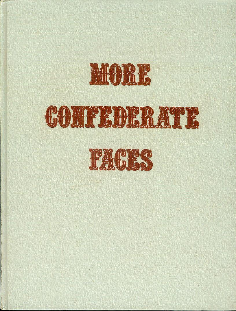 Image for More Confederate Faces: A Pictorial Review