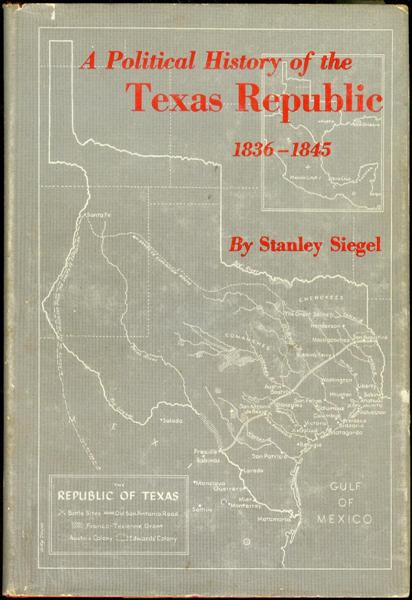 Image for A Political History of the Texas Republic, 1836-1845