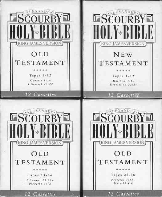 Image for Alexander Scourby Holy Bible (King James Version)