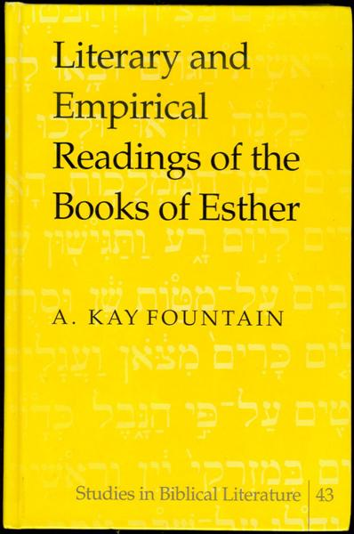 Image for Literary and Empirical Readings of the Books of Esther