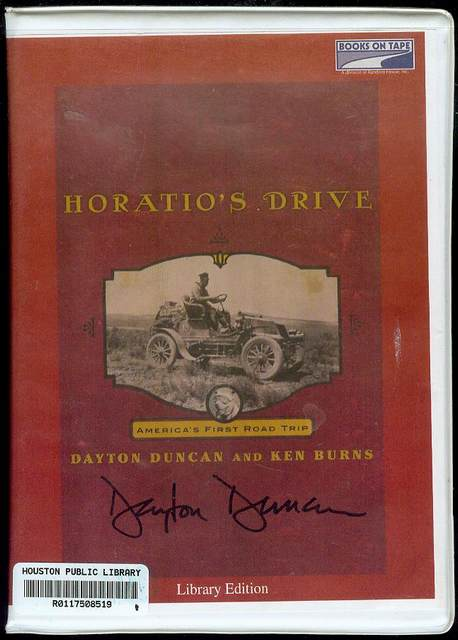Image for Horatio's Drive: America's First Road Trip