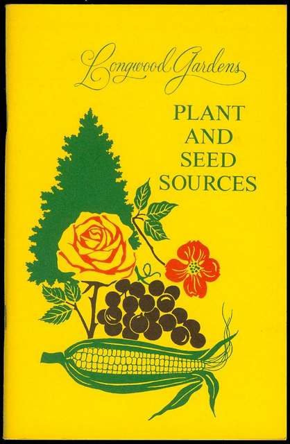 Image for Longwood Gardens Plant and Seed Sources