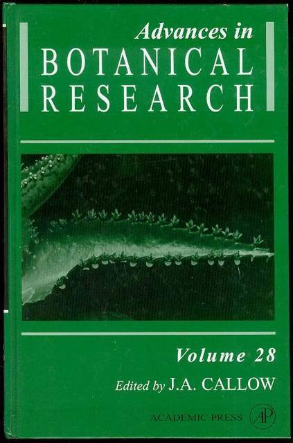 Image for Advances in Botanical Research: Incorporating Advances in Plant Pathology (Volume 28)