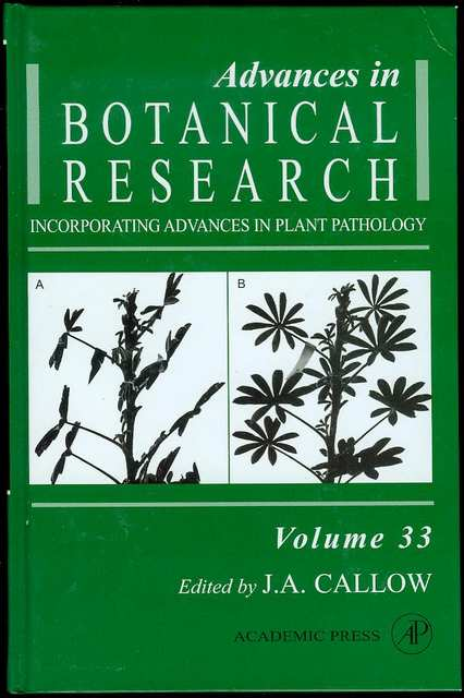 Image for Advances in Botanical Research: Incorporating Advances in Plant Pathology (Volume 33)