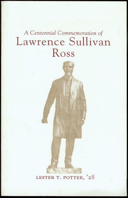 Image for A Centennial Commemoration of Lawrence Sullivan Ross