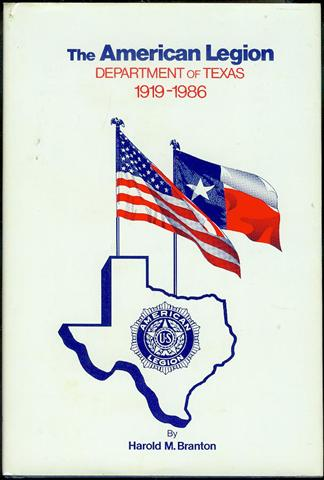 Image for The American Legion Department of Texas 1919-1986