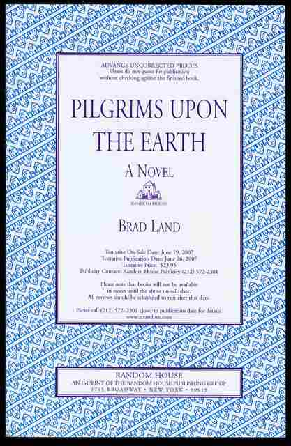 Image for Pilgrims Upon the Earth