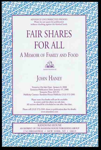 Image for Fair Shares for All