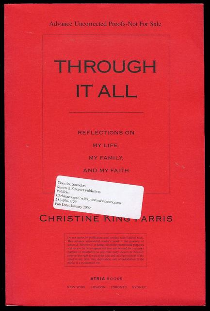 Image for Through It All: Reflections on My Life, My Family, and My Faith