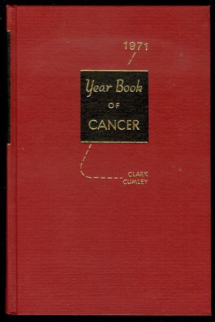Image for The Year Book of Cancer 1971