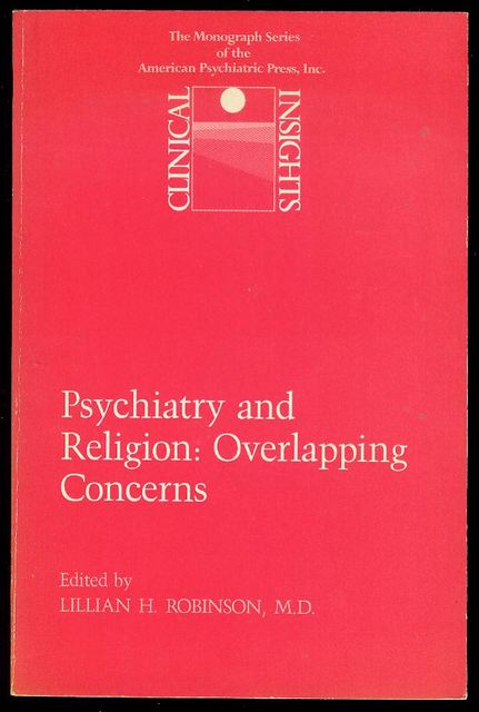 Image for Psychiatry and Religion: Overlapping Concerns