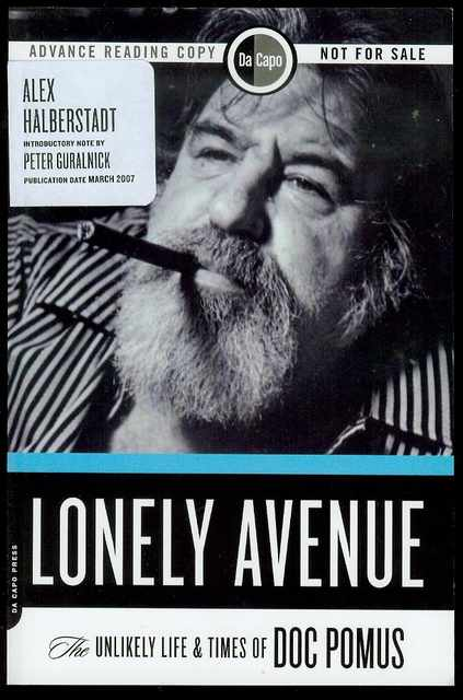 Image for Lonely Avenue: The Unlikely Life and Times of Doc Pomus