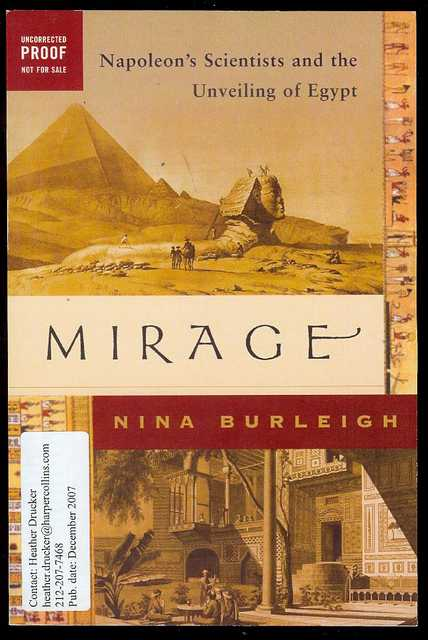 Image for Mirage: Napoleon's Scientists and the Unveiling of Egypt