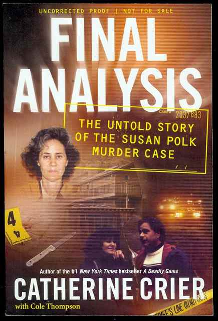 Image for Final Analysis: The Untold Story of the Susan Polk Murder Case