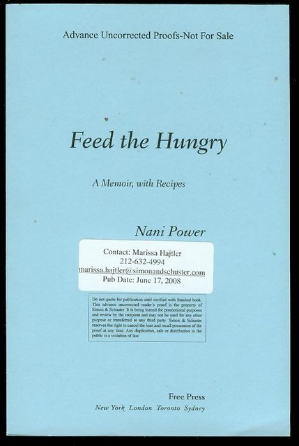 Image for Feed the Hungry: A Memoir, with Recipes