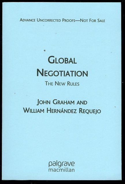 Image for Global Negotiation: The New Rules