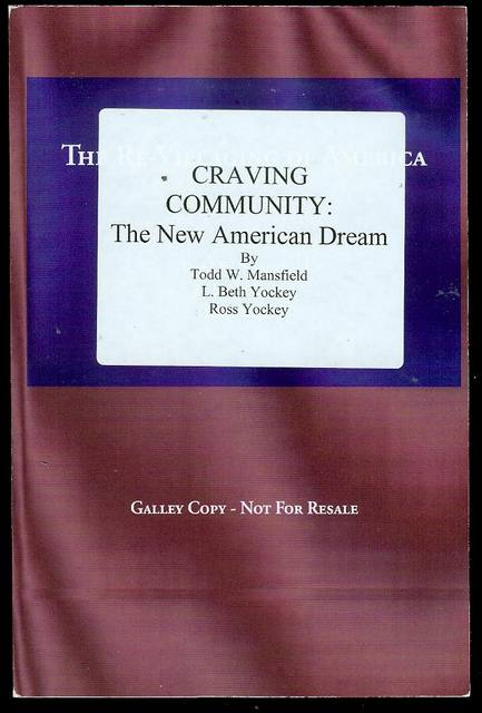 Image for Craving Community: The New American Dream