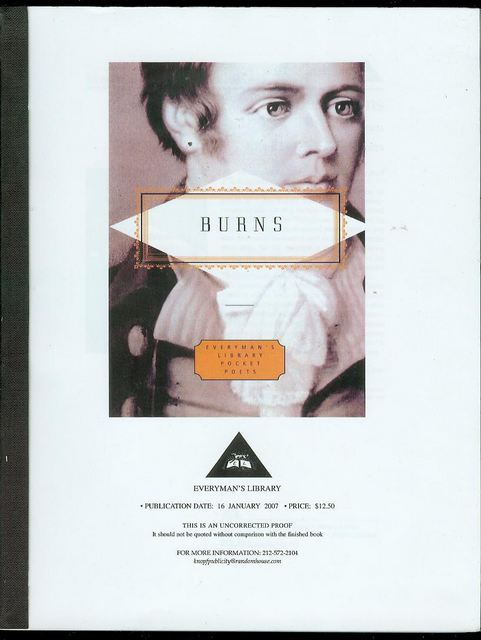 Image for Burns: Poems